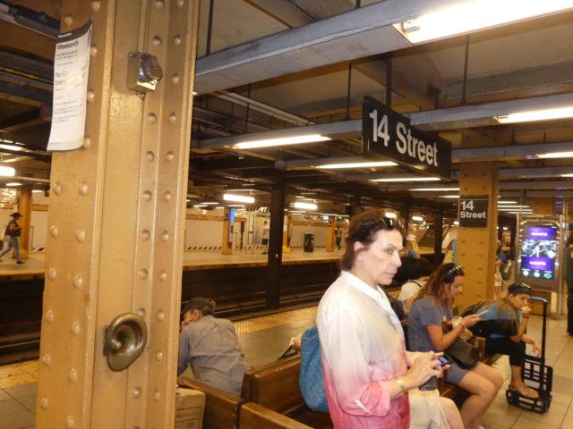 14th Street life underground