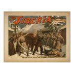 carte postale de Sibérie