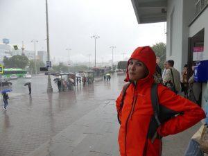 Ekaterinburg : la pluie