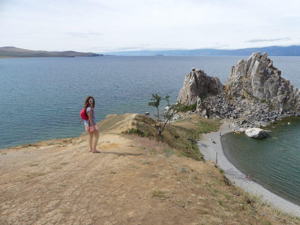 île d'Olkhon sur le lac Baïkal, Sibérie