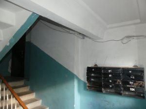 Cage d'escalier d'un Hrouchiovka
