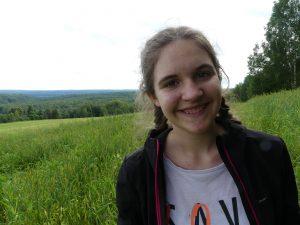 Chloé seule au monde (ou presque) en Russie