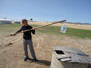 Puits en Mongolie