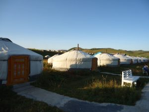 Camp touristique