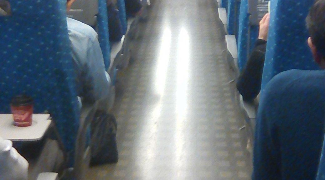 à bord du Shinkansen