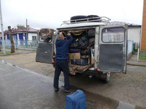 Chargment du véhicule (recto)