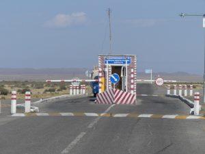 poste de péage en Mongolie