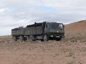 Camion de charbon