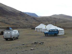 un camping ? non une yourte pour touristes