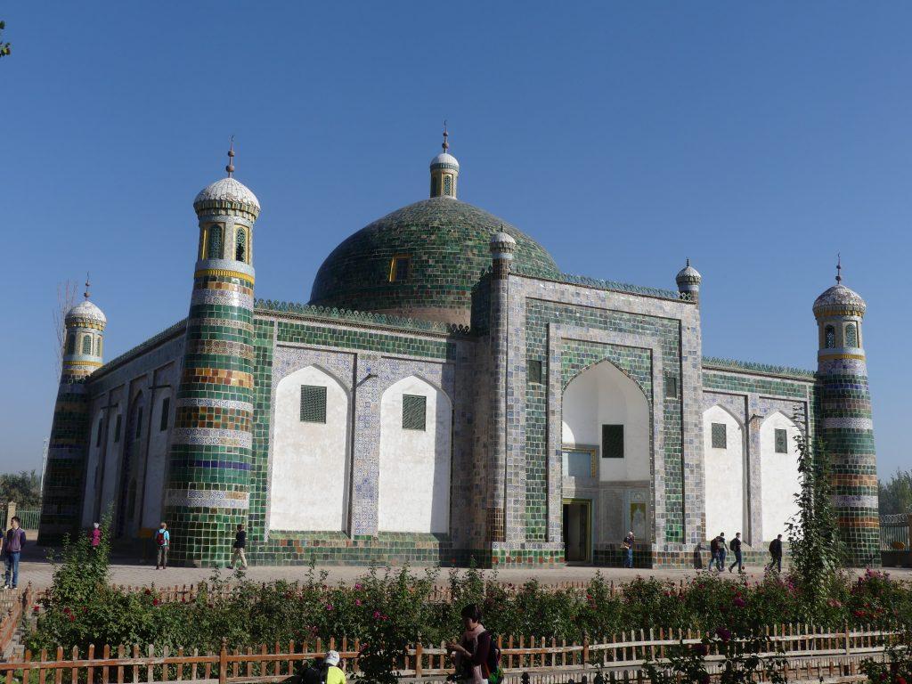 la mosquée de Kashgar (recto)