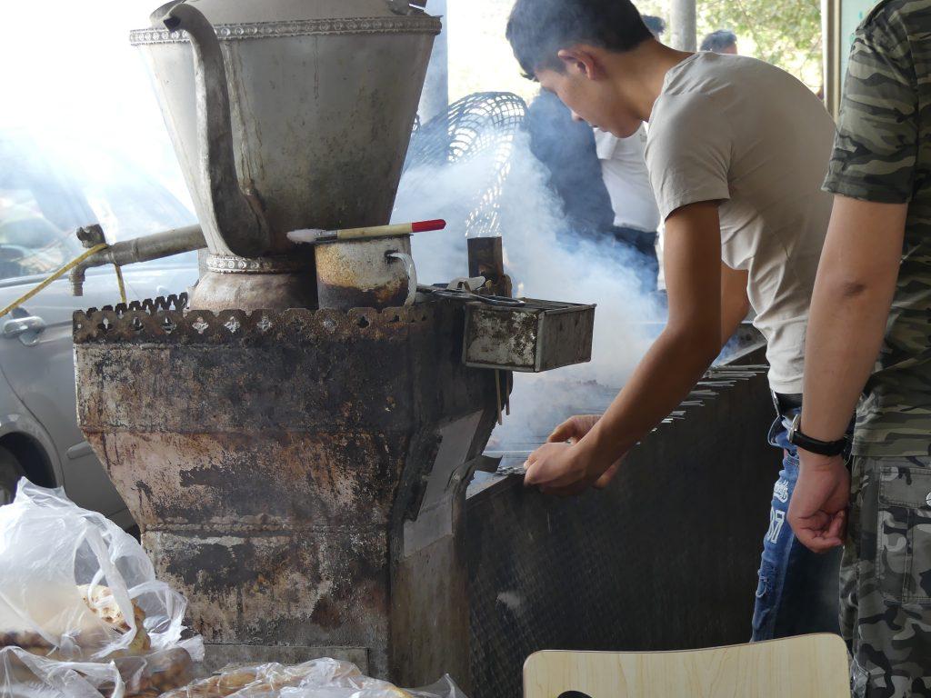 Barbecue à Turpan
