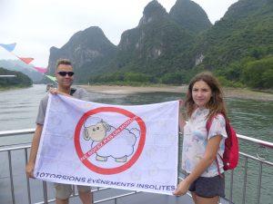 La photo moins traditionnelle de la rivière Li !