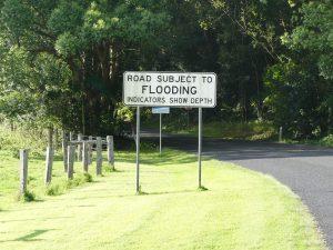 parfois on vous annonce un risque d'inondation... et à vous d'être attentif !