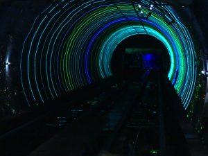 le tunnel touristique du bund