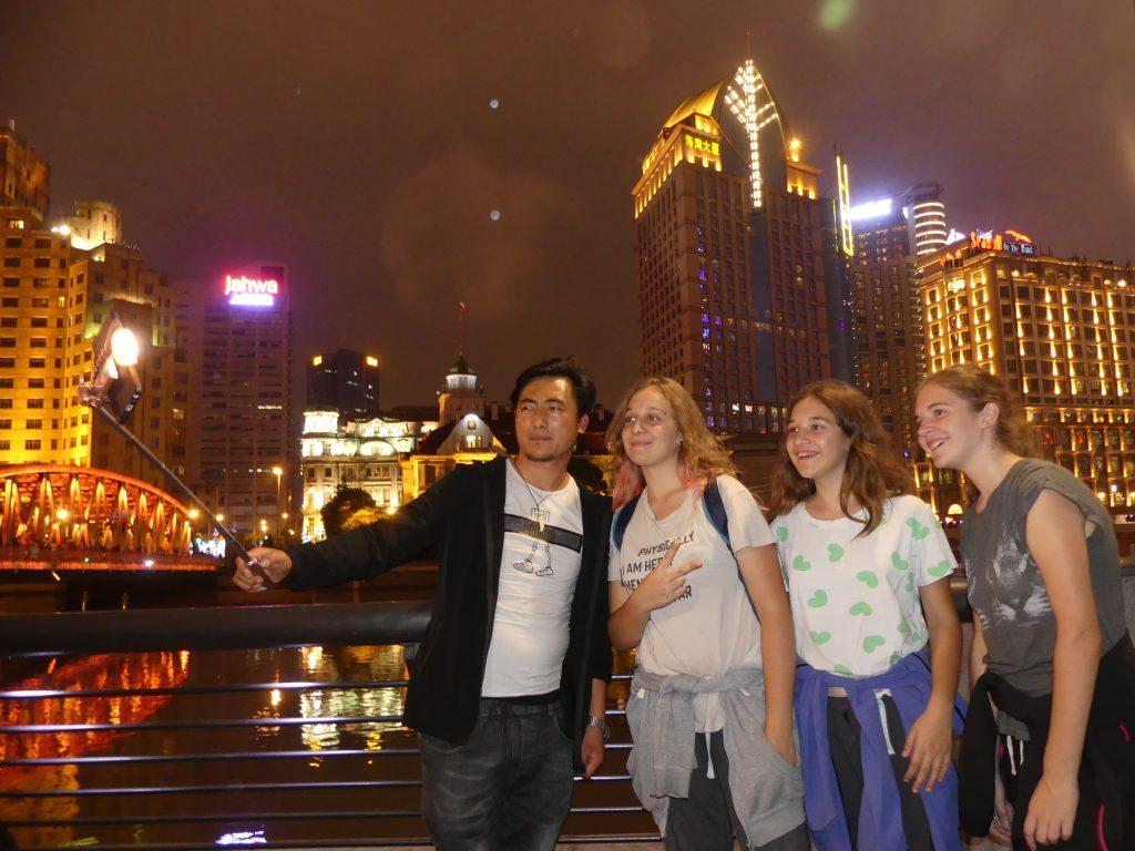 les stars à Shanghaï