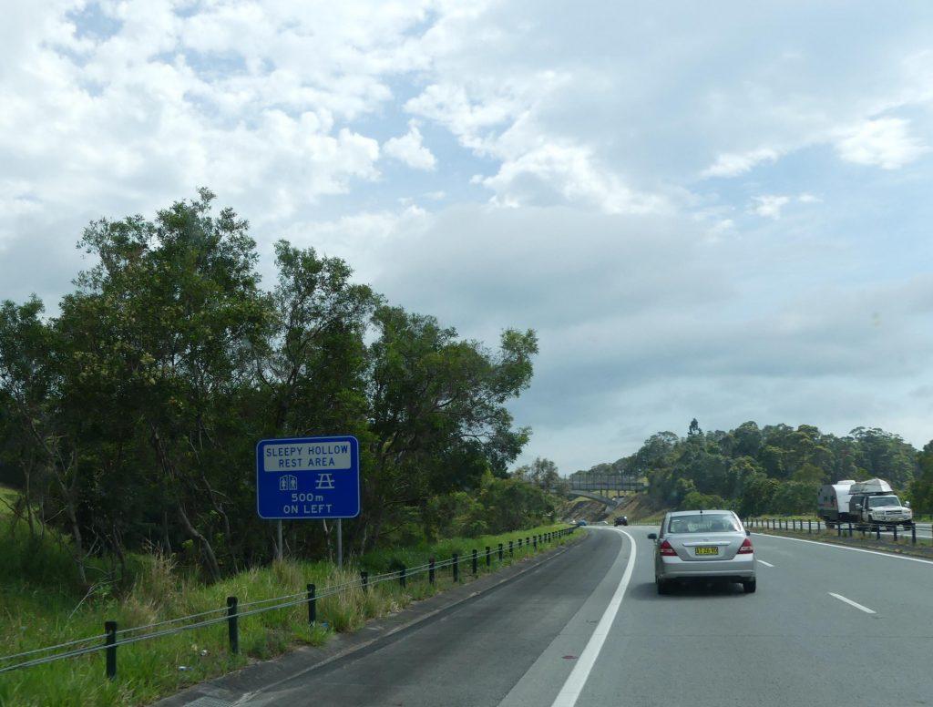 Autoroute en Australie, gratuit bien sûr