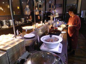 repas du midi au resto de l'onsen