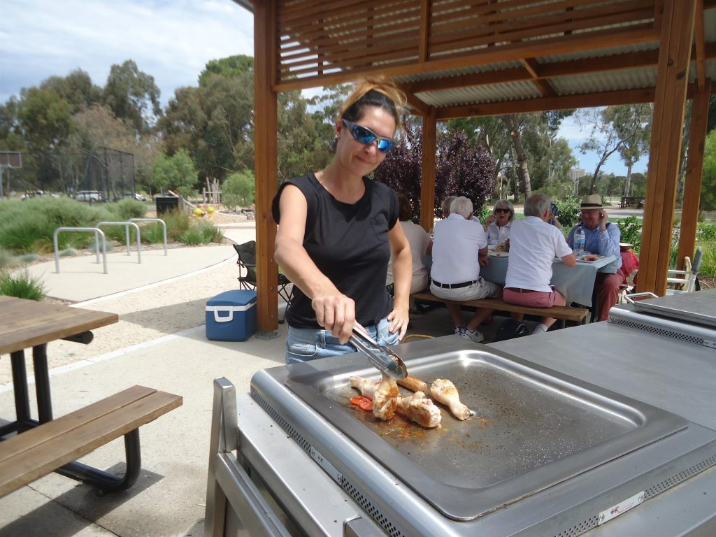 Adelaide : barbecue !!