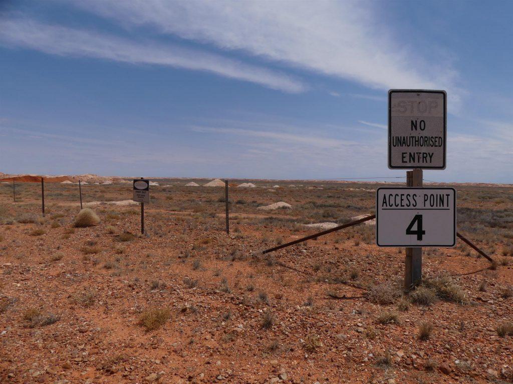 on n'a pas le droit d'aller dans les champs d'opales, oh non