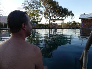 Lightning Ridge : la piscine chaude