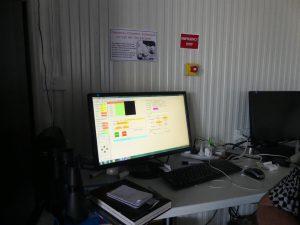 ordinateur de contrôle