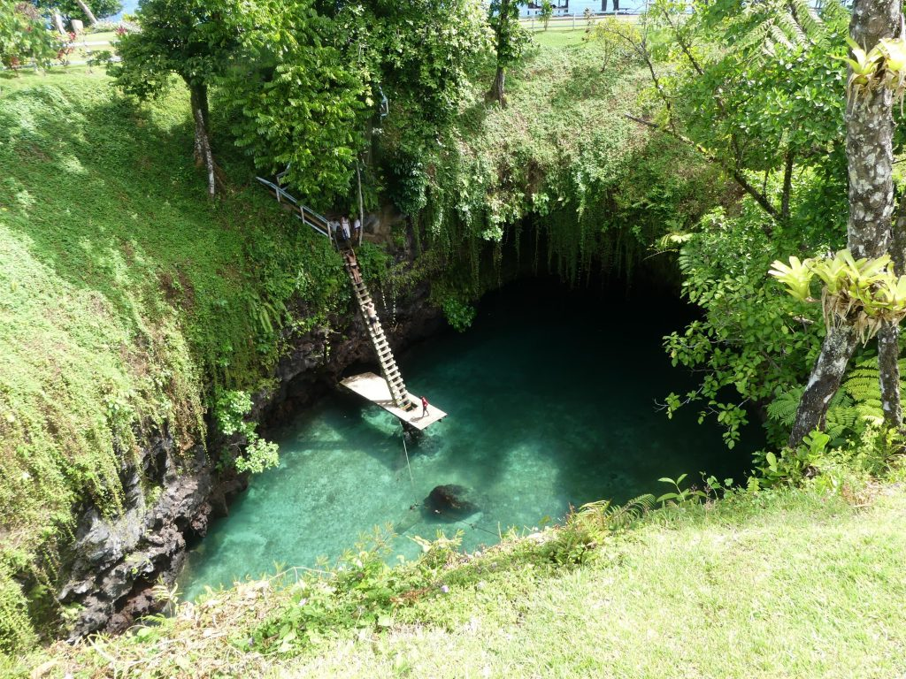 Ocean Trench cave pool