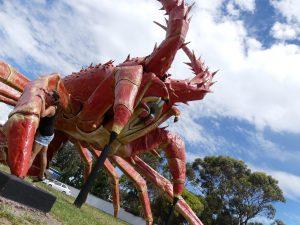 larry, le homard géant