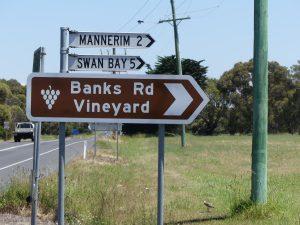 Une petite visite dans les caves, le vin d'Australie est bon