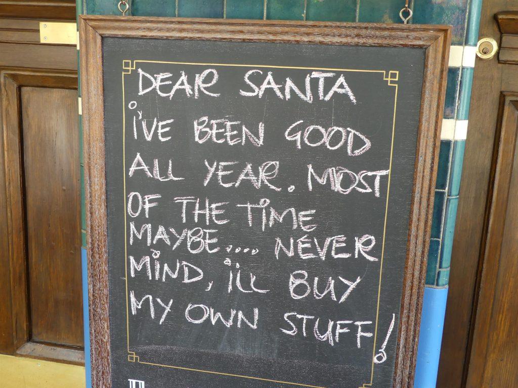Liste pour le père Noël