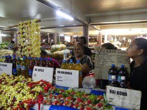 Au marché, vente de boissons médicinales