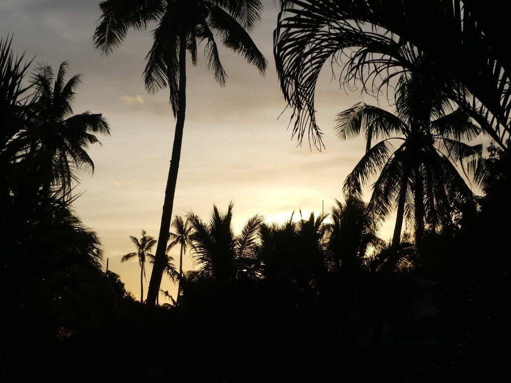 Coucher de soleil à Tonga