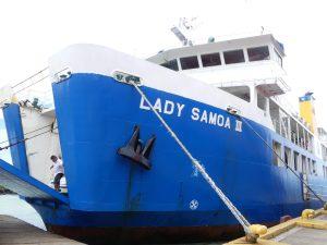 ferry de Savai'i à Upolu
