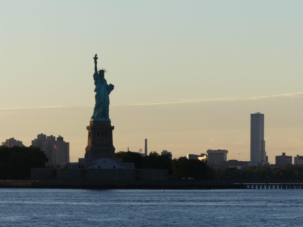 Retour ferry Staten Island - la statue de la Liberté
