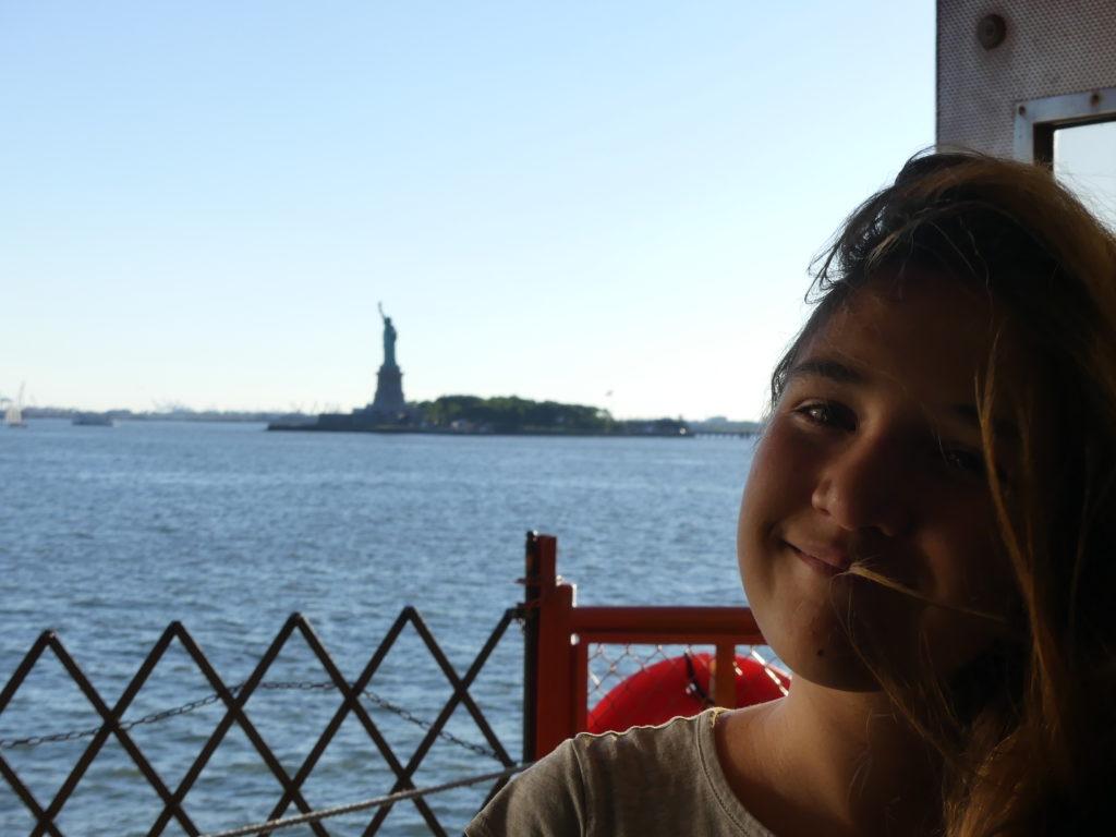AR ferry Staten Island - la statue de la Liberté