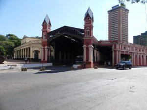 La gare centrale désaffectée