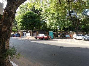 bidonville à Asuncion, Paraguay