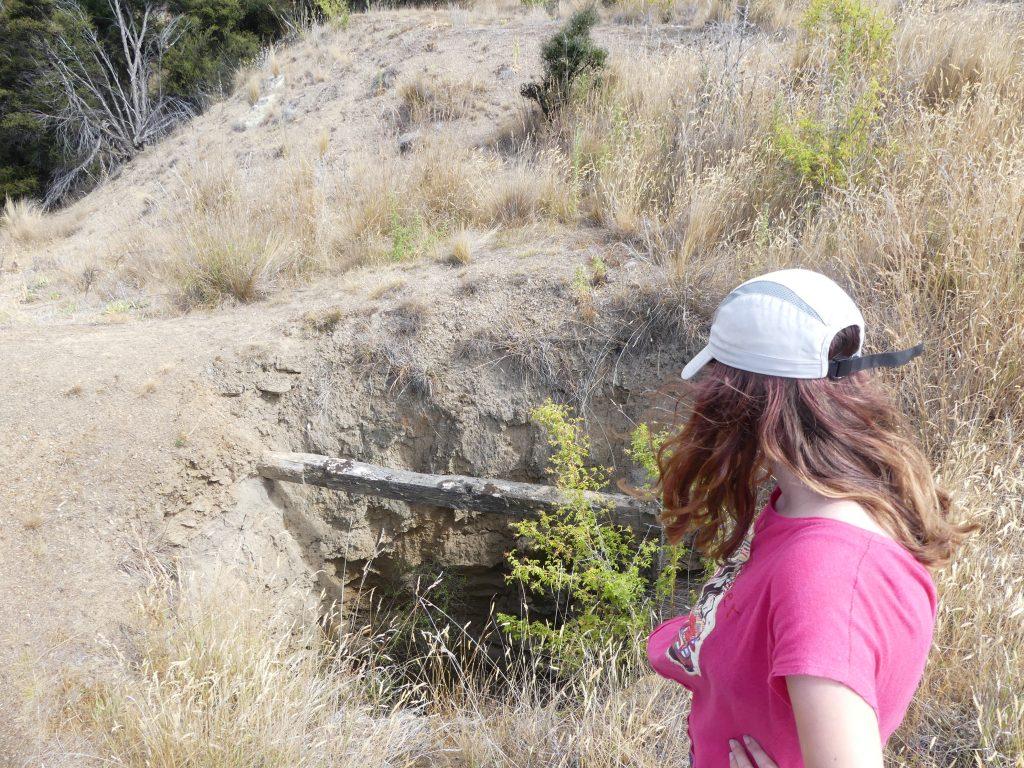 un puits de mine abandonné depuis bien longtemps