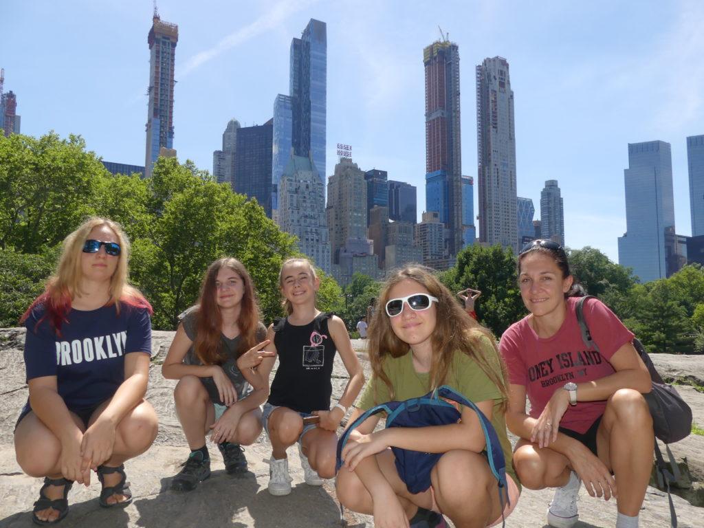 Central Park : le côté sud