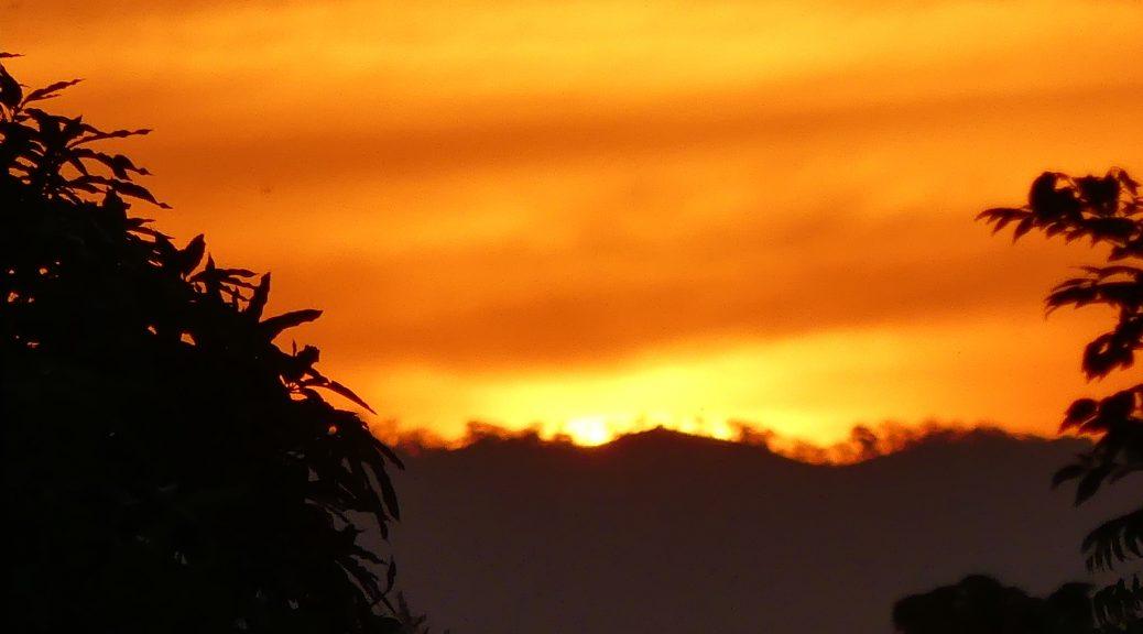 Coucher de Soleil au Nicaragua