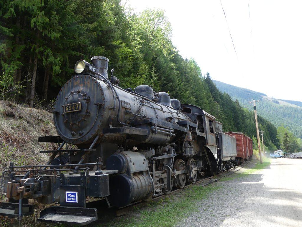 le train à vapeur de Sandon