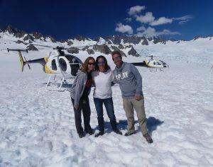 ensemble au Glacier Franz Josef