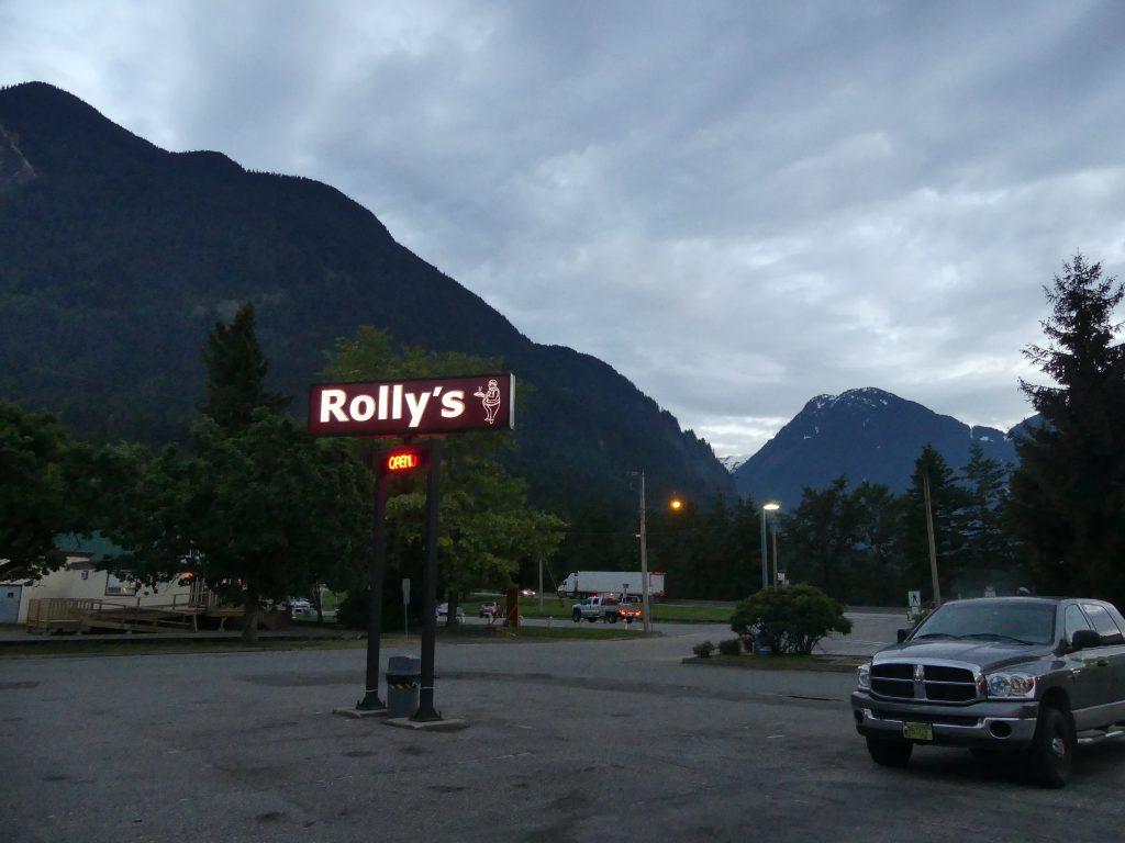 Le Rolly's est LE diner familial de Hope