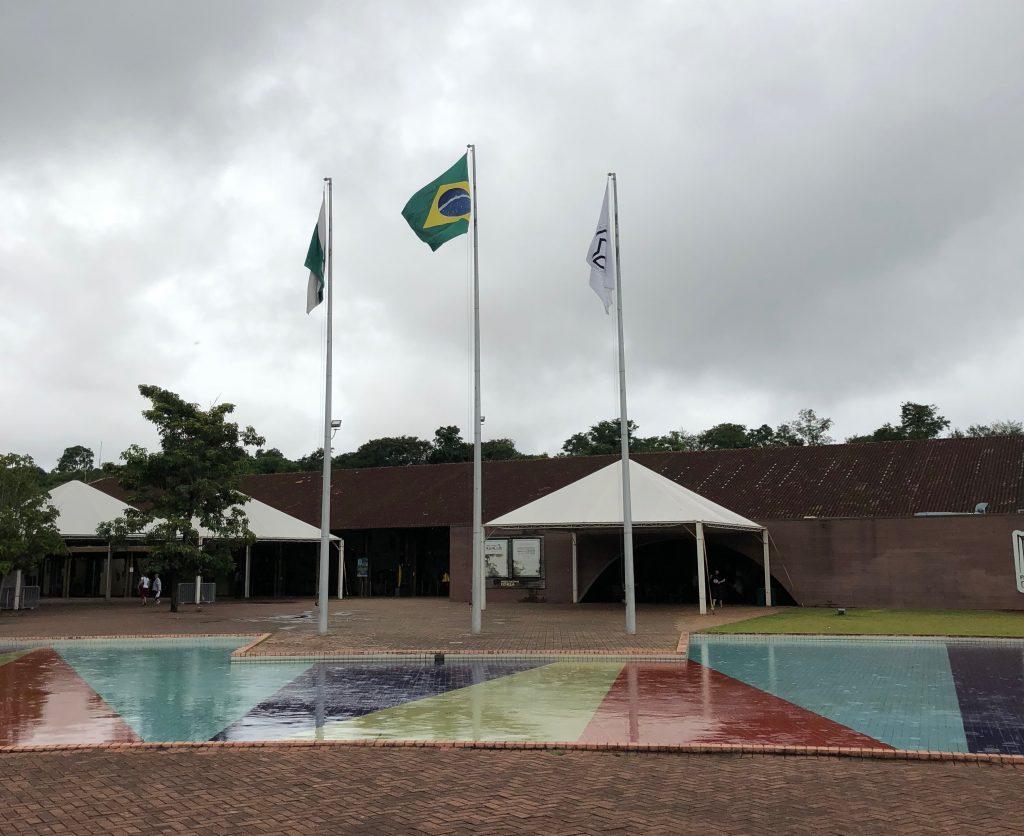 Frontière Brésilienne : le drapeau !