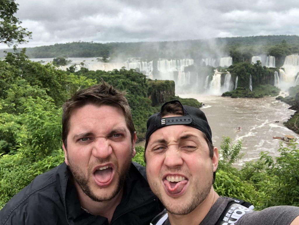 les deux zouaves à Iguazu