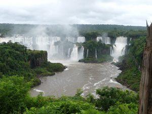 Iguazu, les chutes vues depuis le Brésil