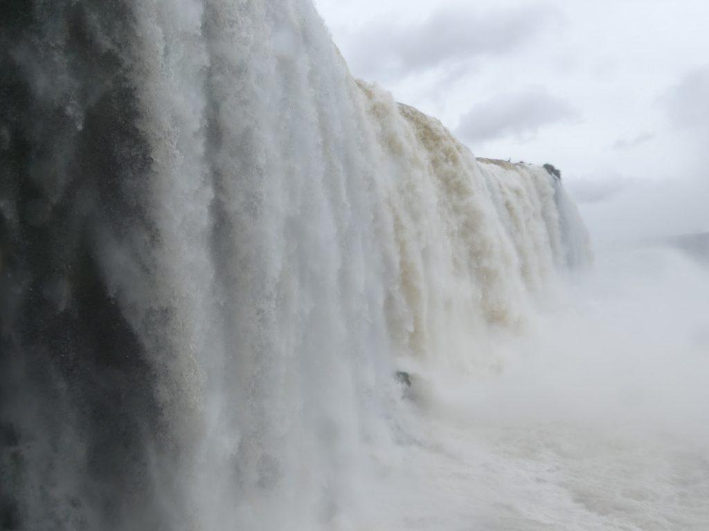 le mur d'eau de la Gorge du Diable