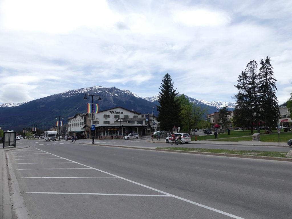 Jasper, petite ville tranquille dans les montagnes