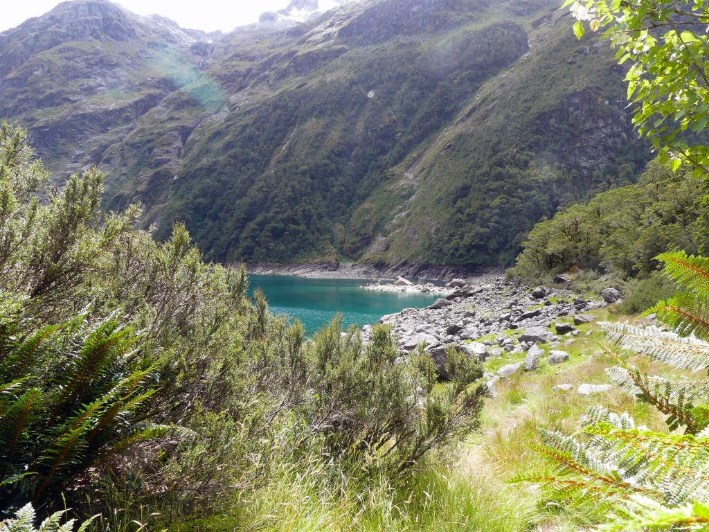 Lake Marian - première vision après la montée