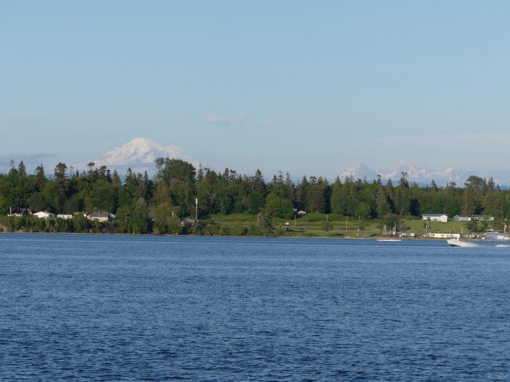 la baie vue depuis le ferry