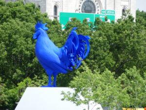 le coq bleu